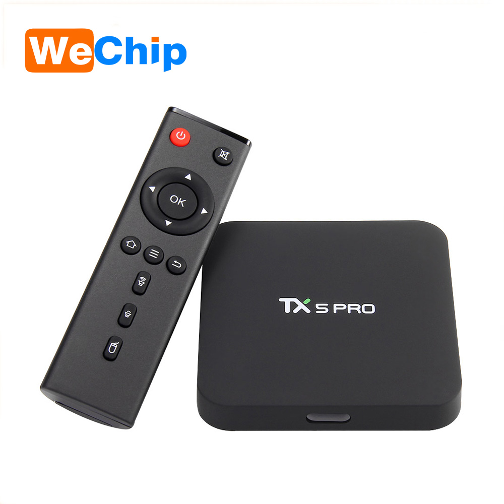 TX5 Pro Android 6.0 TV <strong>Box</strong> 2G/16G Amlogic S905X Chip 4K Kodi Full HD Smart <strong>Media</strong> Player TX5 Pro <strong>Set</strong> <strong>Top</strong> <strong>Box</strong>