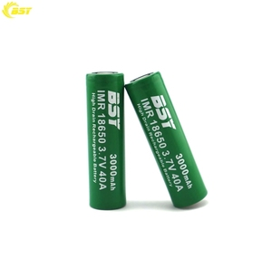 BSY 18650 3000mAh 40A Battery for Battery Caps