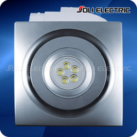 Bathroom Ceiling Ventilation Fan With Led Light - Buy Bathroom ...