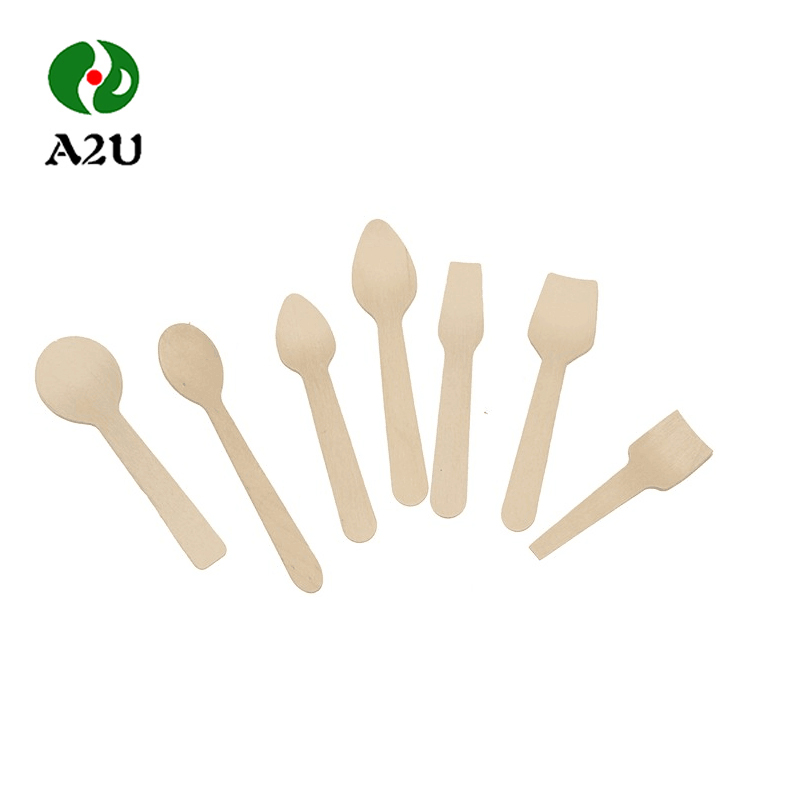 Wholesale Disposable Wooden Spoon For Ice Cream Spoon From China