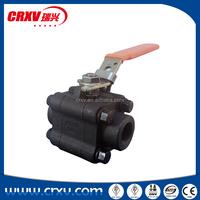 Ball Valve Industrial Oil Gas Forged Steel CS Ball VALVE 3pc A105N 1/2inch BB