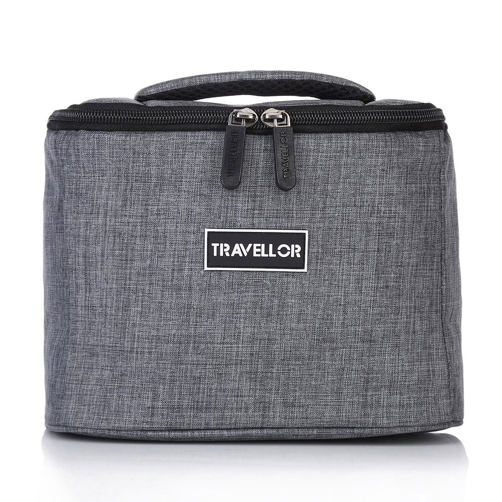 Insulated Lunch Bag, Lunch Box, Cooler bag - KINGSWELL Freezable Large Capacity Waterproof Container Trunk Cooler Box Hangbag for Outdoor Picnic Fishing Camping Sports (Insulated Bag, Gray)