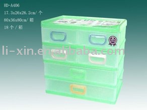 4 layers plastic cabinet