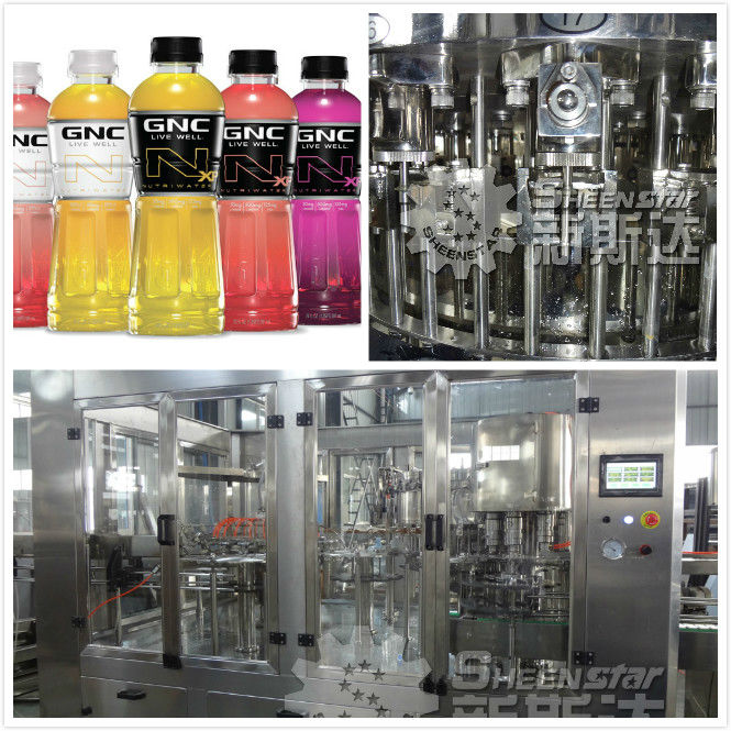 Automatic Aerated Water 3 in 1 Filling Machine