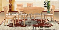 High quality solid oak dinning table set dinning room set dinning set
