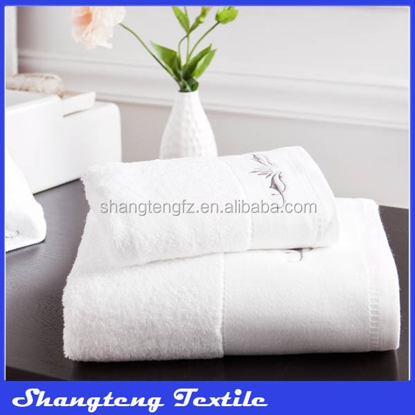 China OEM manufacture factory hot selling hotel 100 cotton towel kg