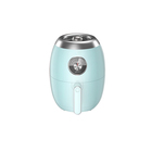 3L Portable Small Appliances Hot Air Fryers no oil no shake heathy cooking With Light Indicator