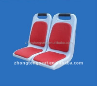 plastic bus seat for city bus