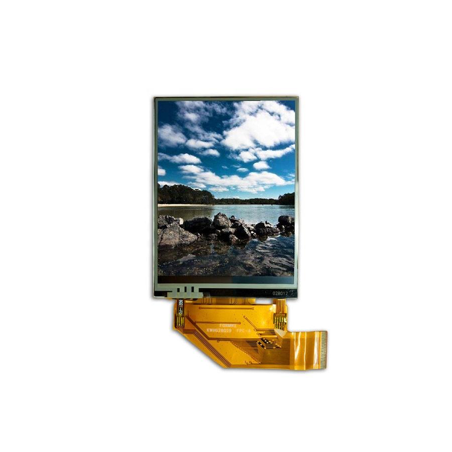 240x320 Pixel 2,8 Zoll LCD-Display-Modul mit widerstandsfähigem 4-Draht-Touchscreen