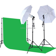Photo Studio Kit Photography Studio Kit Photo Video Equipment 1.6*3 non-woven fabric Black White Green Background