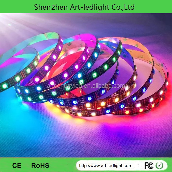 Led Strips Shenzhen Led Dc12v 5m Led Ribbon 5050 Digital Sk6812 ...