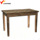 solid fir wood small farmhouse dining vintage dinner table