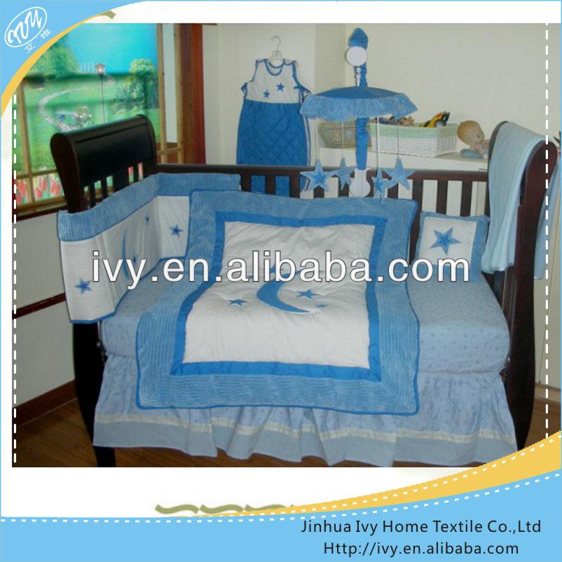 hermoso de enfermera equipada cubrecama de cama cuna twins