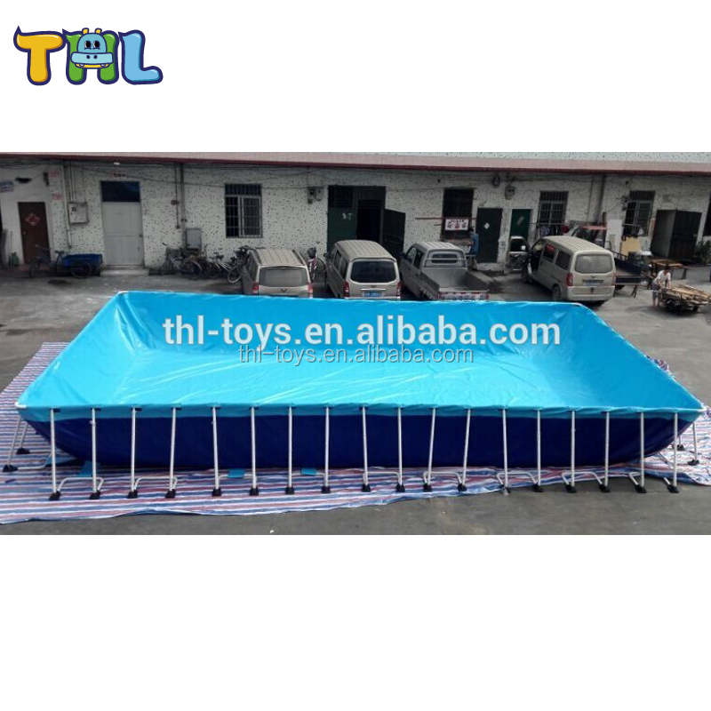 Giant Metal Frame Swimming Pool Use Portable Pools Outdoor Pvc For
