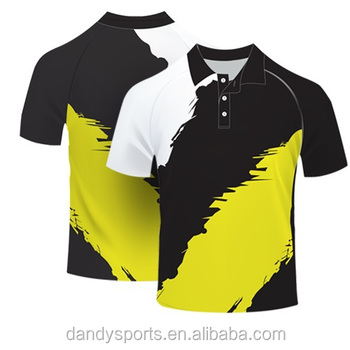 2016 Latest Customized Polo Shirts Cricket Polo T Shirt