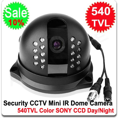 540TVL SONY CCTV 18LED IR CCD DOME CAMERA