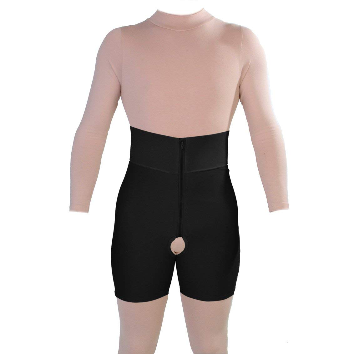 Post Liposuction Abdominal Surgery Recovery Mid Calf Underbust Pull On Body Garment ContourMD Style 39 Small