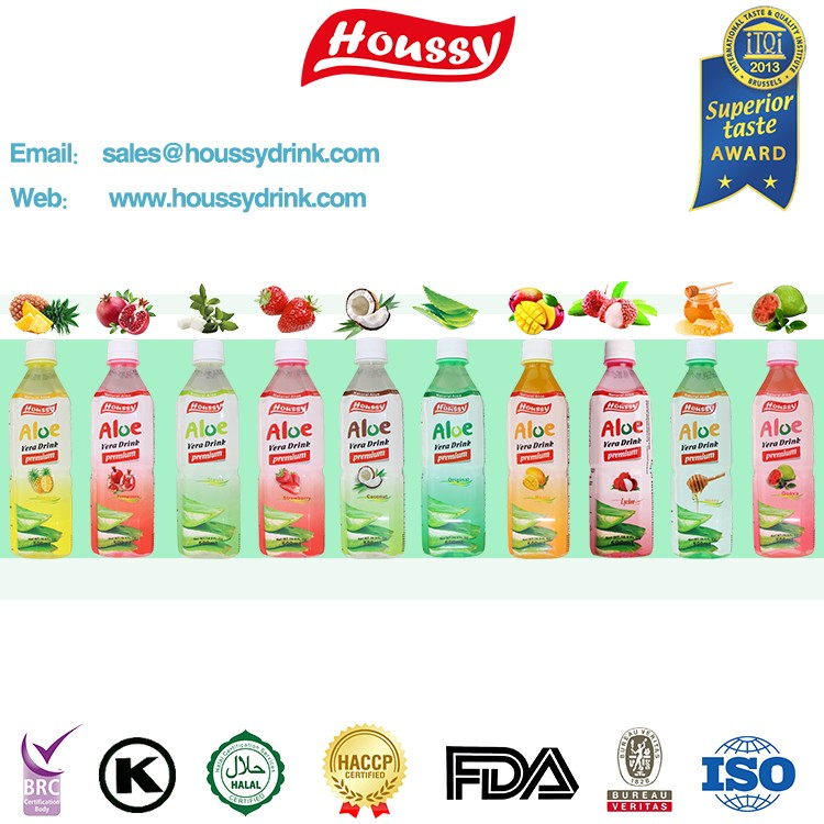 Houssy coconut flavor aloe vera drink manufacturer