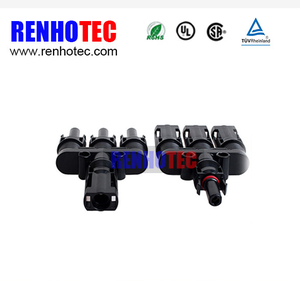 Solar Accessories Manufacturer 3 to 1 MC4 Tyco Solar Connector