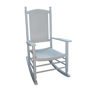 Wood Rattan Double Rocking Chair On Sale