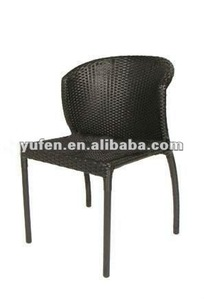 PE rattan all weather alive garden chair for outdoor