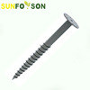 solar ground screw anchor for pv panel mounting
