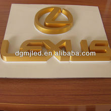 2012 Newest Hot Lexus Acrylic Led Logo Sign