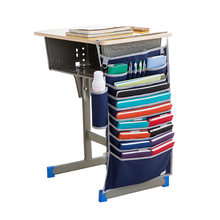 Сзади на настенный подвесной для хранения сумки льняной Шкаф детская комната стол органайзер сумка для игрушек книги косметический Органа...(Китай)