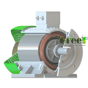 3kW 200RPM High quality permanent magnet alternator