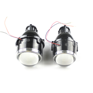 IPHCAR HID Bi-xenon Bulbs Headlight Projector Lens Hid Fog Light with Two Kinds of Universal Brackets