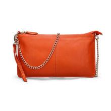 f2789c31e2f9 Genuine Leather Women Shoulder Bags Clutch Bag Ladies Trendy Mini Bag 2018