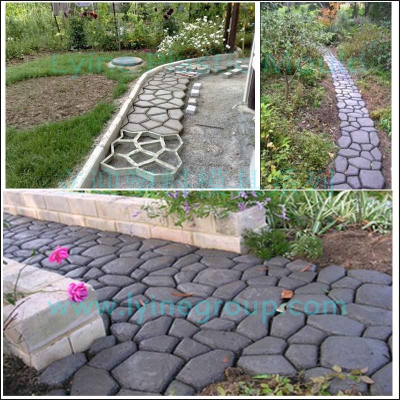 Lyine Diy Pl 225 Stico Patio Calzada Concreta Azar Stepping