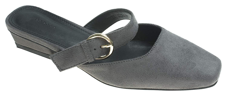 036d174b1865b AnnaKastle Womens Pointy Toe Slide Flat Mule