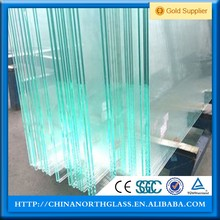 brand new NG2016-1737 clear frosted tempered glass m2 price 6.38mm 7mm 8mm 10mm 12mm thick for sale