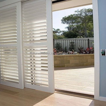 Clical Wood Door Model Interior Panel Bathroom Sliding Louvered Doors