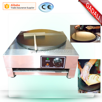2017 hot selling Electric heating one head industrial crepe maker(ZQW-1E)
