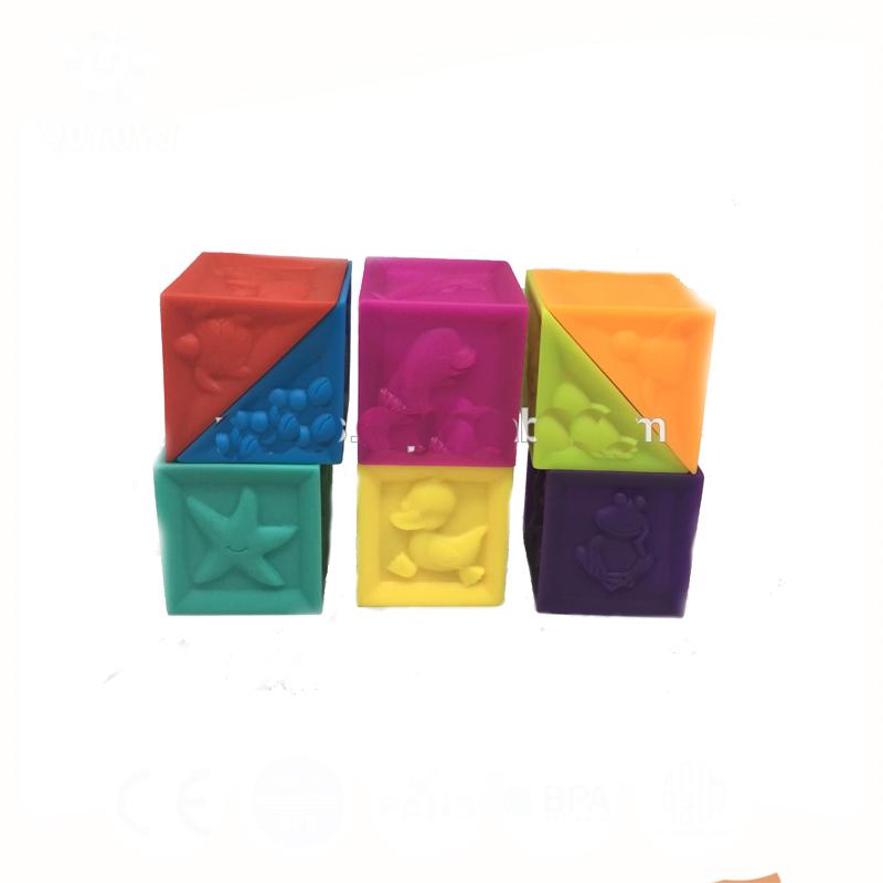 Мягкие бриллиантами блок Magic Cube детские игрушки