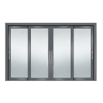 4 panel kitchen sliding patio doors