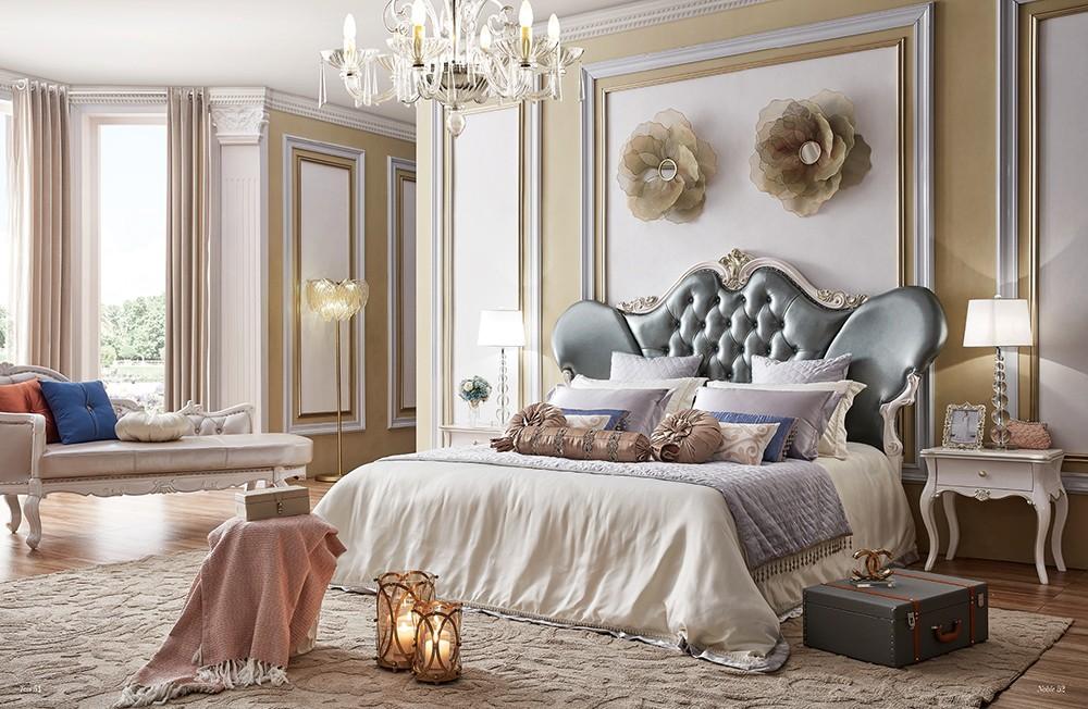 Luxus Prinz Bett Mit Leder Kopfteil Klassische Luxus Antike Mobel