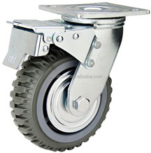 PVC industrial swivel heavy duty caster wheel