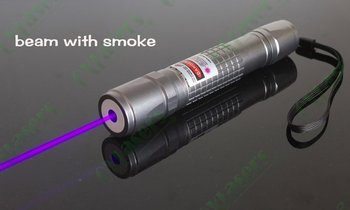 OXLasers OX-V40 405nm 500mw blue violet laser pointer focusable purple laser torch with 5 star caps light cigars free shipping