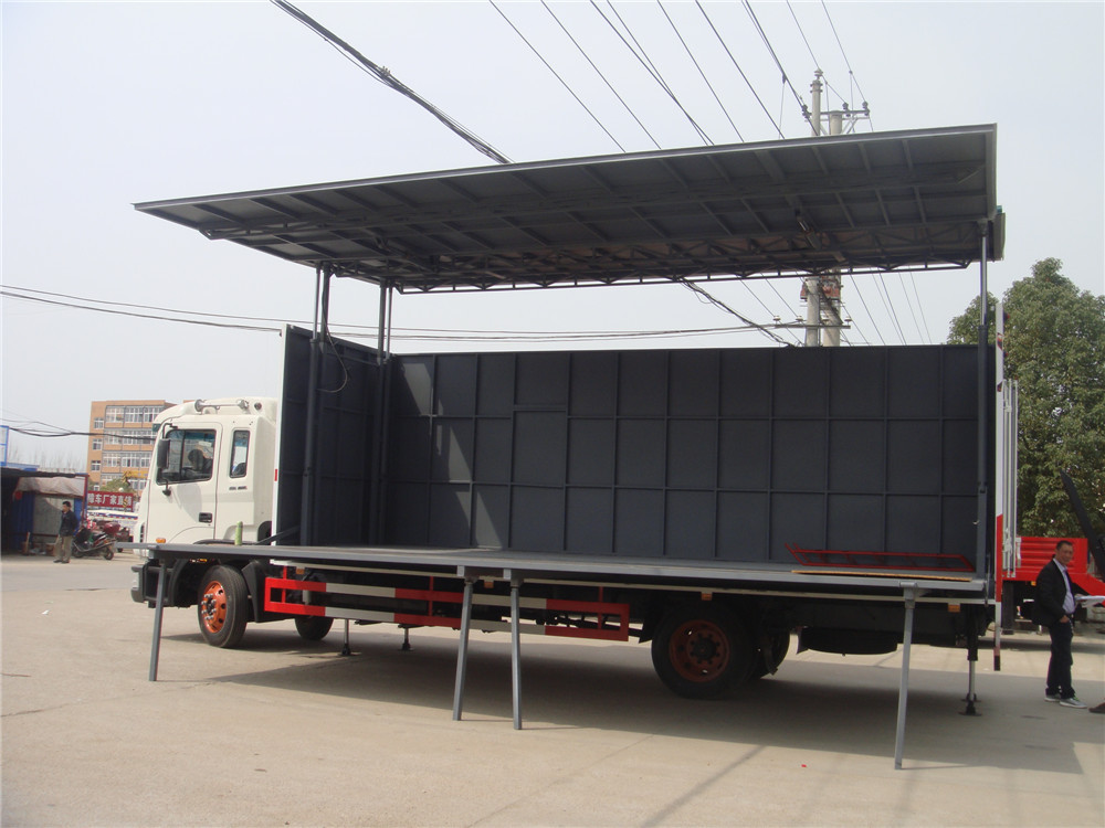 4x2 Jac 40m2 Two Side Foldable Mobile Stage Truck For Sale - Buy Mobile Stage Truck For Sale,Two ...