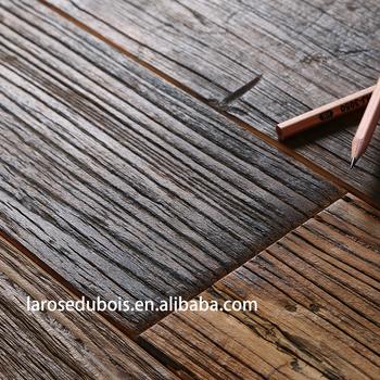 Alibaba Wood Look Rubber Wide Plank Oak Wire Brushed Engineered Wood