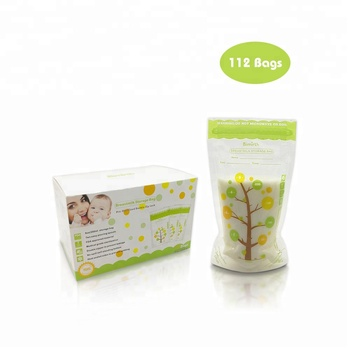 Bimirth 8OZ  235ml    bpa free   breast milk storage bags   Milk Freezer Baby Food Storage bag