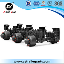 Rear independent suspension chain drive