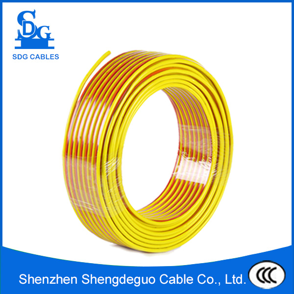 BVVB sheathed copper earth conductor cable for home and lighting