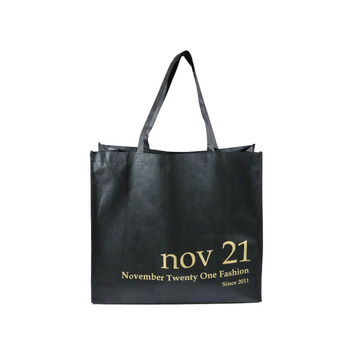 Eco-friendly wholesale reusable non woven shopping tote bags for cloth