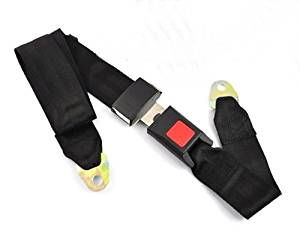 ac7a4d73a75b Get Quotations · 7.5Z 2 point Seat Saftey Belt Harness Kit Go Kart UTV  Buggie Single Double BT11