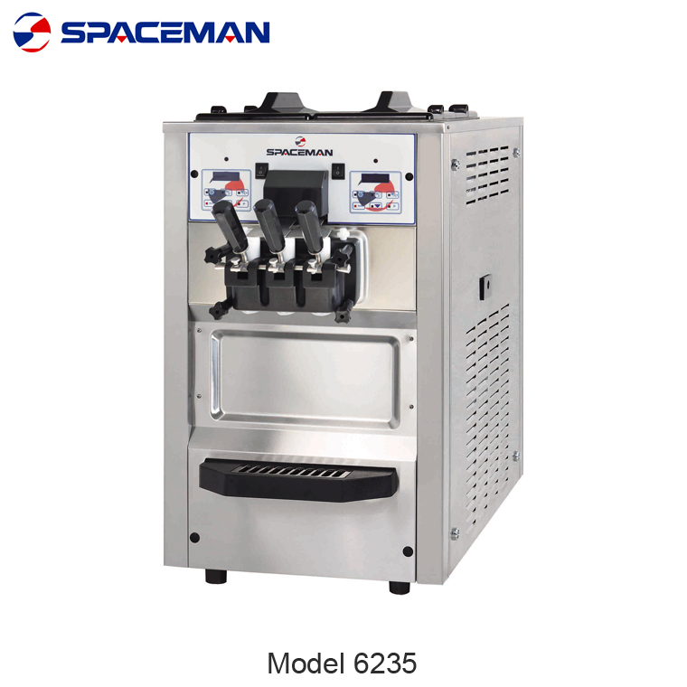SPACEMAN Counter Top soft ice cream machine price