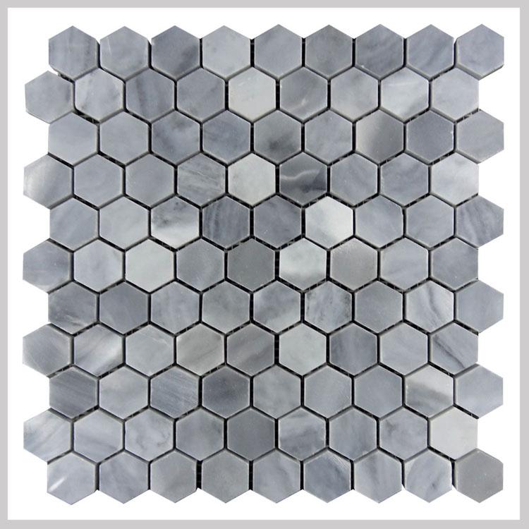 Itali grijs marmer hexagon moza ek badkamer wc tegel marmer product id 60516028800 dutch - Badkamer mozaiek grijs ...